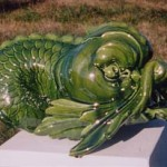 04-triton-vert 38cm x 25cm