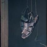 06-Les sandales de Rembrandt - huile 25x32,5cm