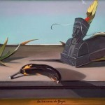 08-La banane de Goya - huile 25x32,5cm