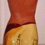 Buste femme ceramique 03 45cm x 15cm