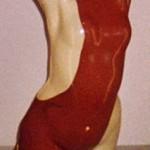 Buste femme ceramique 04 45cm x 15cm