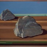 Le language des pierres - acrylique 50x65cm