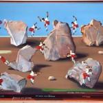Les sauta rocs d'Arboras - acrylique 50x65cm
